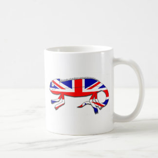 Camaleón de Reino Unido Taza