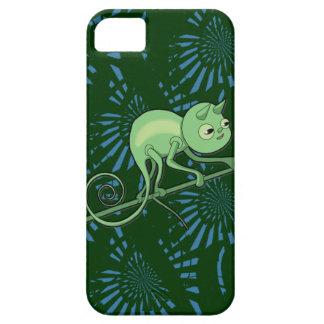 Camaleón en el vagabundeo iPhone 5 coberturas