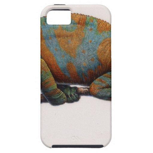 Camaleón en la presa iPhone 5 protector