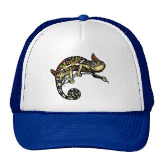 camaleón gorra
