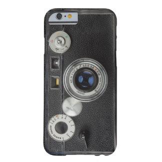 Cámara 007 del vintage funda de iPhone 6 barely there