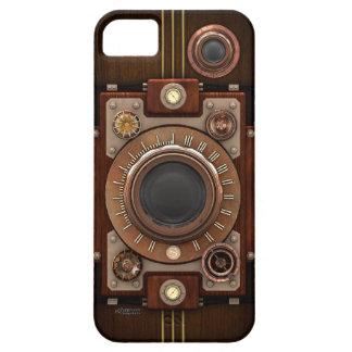 Cámara #1B de Steampunk del vintage iPhone 5 Case-Mate Protectores