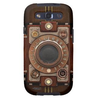 Cámara #1B de Steampunk del vintage Galaxy S3 Fundas