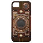 Cámara #1B de Steampunk del vintage iPhone 5 Carcasas