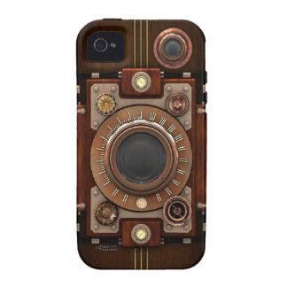 Cámara #1B de Steampunk iPhone 4/4S Fundas