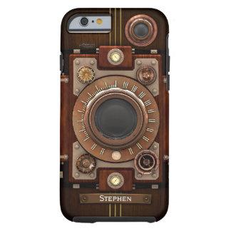 Cámara #1C de Steampunk del vintage Funda De iPhone 6 Tough