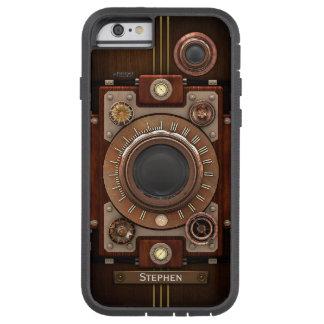 Cámara #1C de Steampunk del vintage Funda De iPhone 6 Tough Xtreme