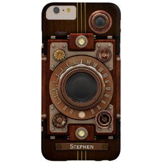 Cámara #1C de Steampunk del vintage Funda De iPhone 6 Plus Barely There