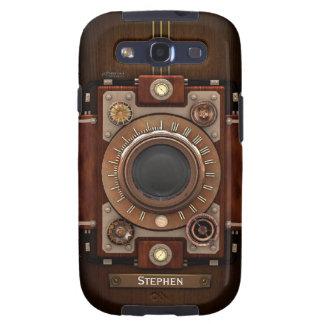 Cámara #1C de Steampunk del vintage Samsung Galaxy S3 Coberturas