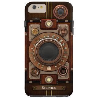 Cámara #1C de Steampunk del vintage Funda De iPhone 6 Plus Tough