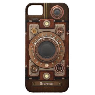 Cámara #1C de Steampunk del vintage iPhone 5 Carcasa