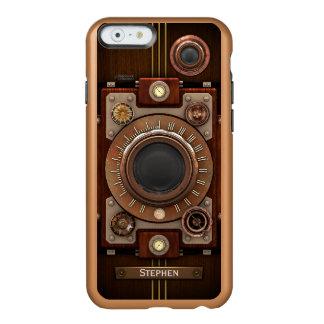 Cámara #1C de Steampunk del vintage Funda Para iPhone 6 Plus Incipio Feather Shine