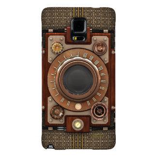 Cámara #1D (De Luxe de Steampunk del vintage!) Funda Galaxy Note 4