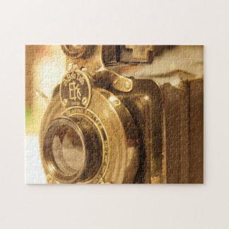 Cámara 2 del vintage puzzles con fotos