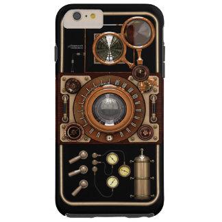 Cámara 2B de Steampunk TLR del vintage Funda De iPhone 6 Shell
