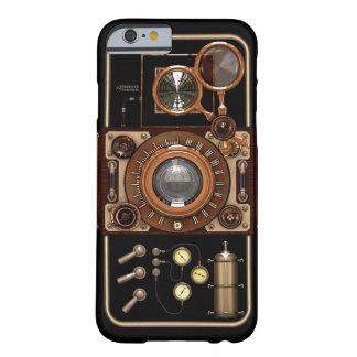 Cámara #2B de Steampunk TLR del vintage Funda De iPhone 6 Barely There