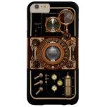 Cámara #2B de Steampunk TLR del vintage Funda De iPhone 6 Plus Barely There