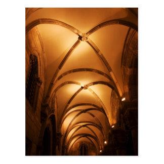 Cámara acorazada acanalada de Palace Illuminated d Postales