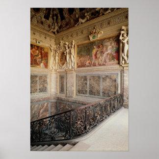 Cámara anterior de Anne de Pisseleu Póster