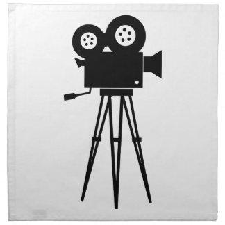 Cámara clásica de la película servilleta imprimida