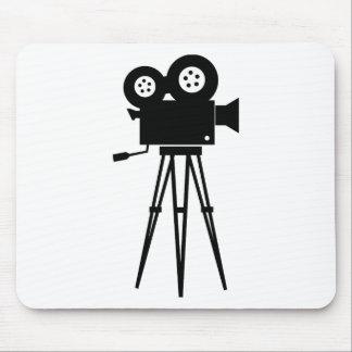 Cámara clásica de la película tapete de ratones