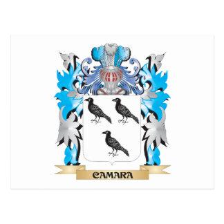 Camara Coat of Arms - Family Crest Postcard
