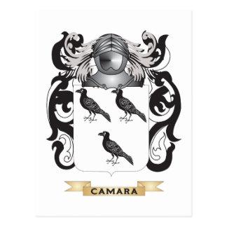 Camara Coat of Arms (Family Crest) Postcard