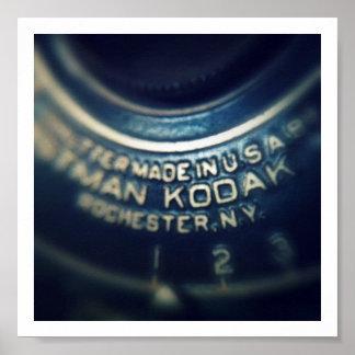 Cámara de bolsillo de chaleco del No1 de Kodak Poster
