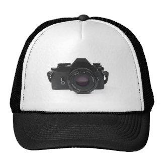 cámara de la foto del slr - diseño clásico gorro de camionero