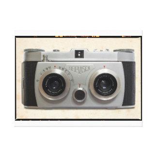 cámara de la obra clásica 3D Impresión En Lona Estirada