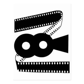 Cámara de la película de cine - película postales