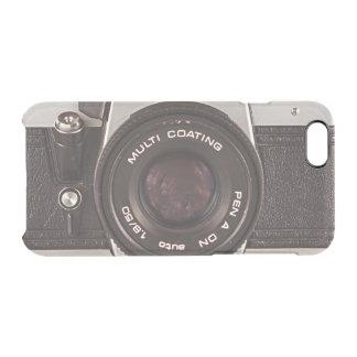 cámara de los años 80 funda clearly™ deflector para iPhone 6 de uncommon