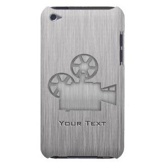 Cámara de película cepillada de la Metal-mirada iPod Touch Case-Mate Carcasa