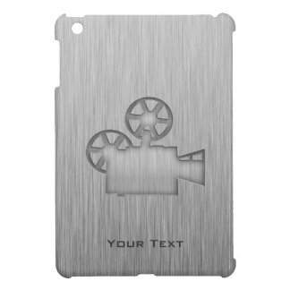 Cámara de película cepillada de la Metal-mirada iPad Mini Protector
