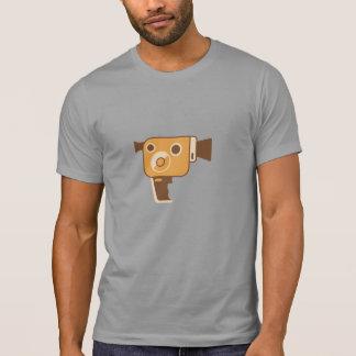 Cámara de película del cineasta camisetas
