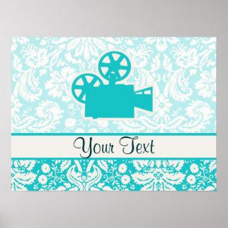 Cámara de película del trullo poster