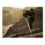 Cámara de película grande del fotógrafo del Gran C Tarjeta Postal