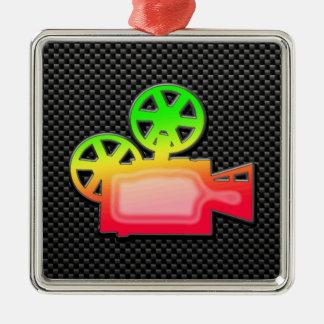 Cámara de película lisa ornamento para reyes magos