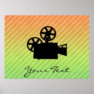 Cámara de película póster