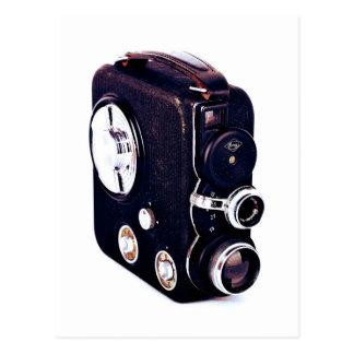 Cámara de película retra del vintage el | postal