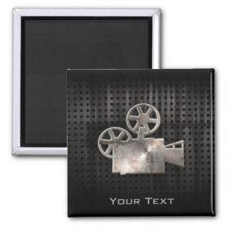 Cámara de película rugosa imán cuadrado