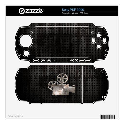 Cámara de película rugosa skin para el PSP 3000