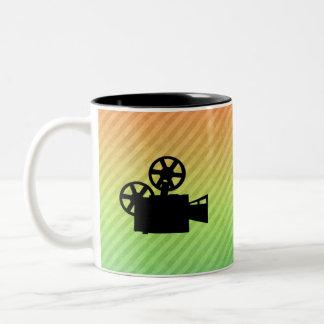 Cámara de película taza