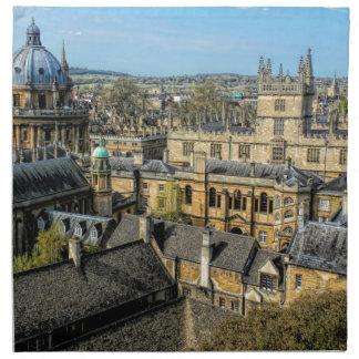 Cámara de Radcliffe y biblioteca Oxford de Servilleta De Papel