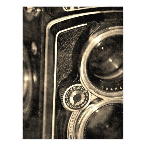 Cámara de Rolleiflex Tarjetas Postales