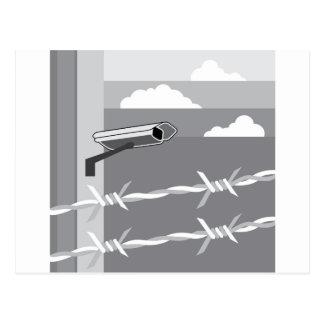 Cámara de seguridad. Asegure la instalación Postales