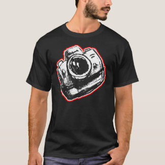 Cámara de SLR - camisetas oscuro solamente