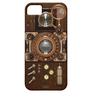 Cámara de Steampunk TLR del vintage iPhone 5 Carcasa