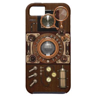 Cámara de Steampunk TLR del vintage iPhone 5 Case-Mate Cárcasas