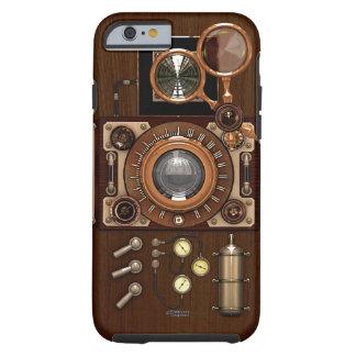 Cámara de Steampunk TLR del vintage Funda De iPhone 6 Tough